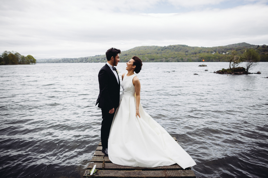 Silverholme Manor Windermere Lake District wedding photography
