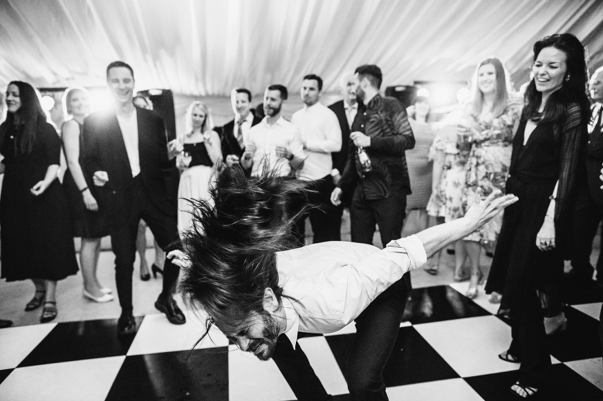 Anglesey wedding photography dance floor