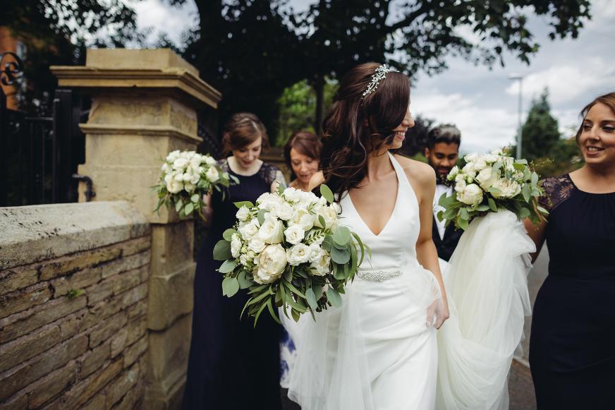 Didbsury House Hotel wedding photography