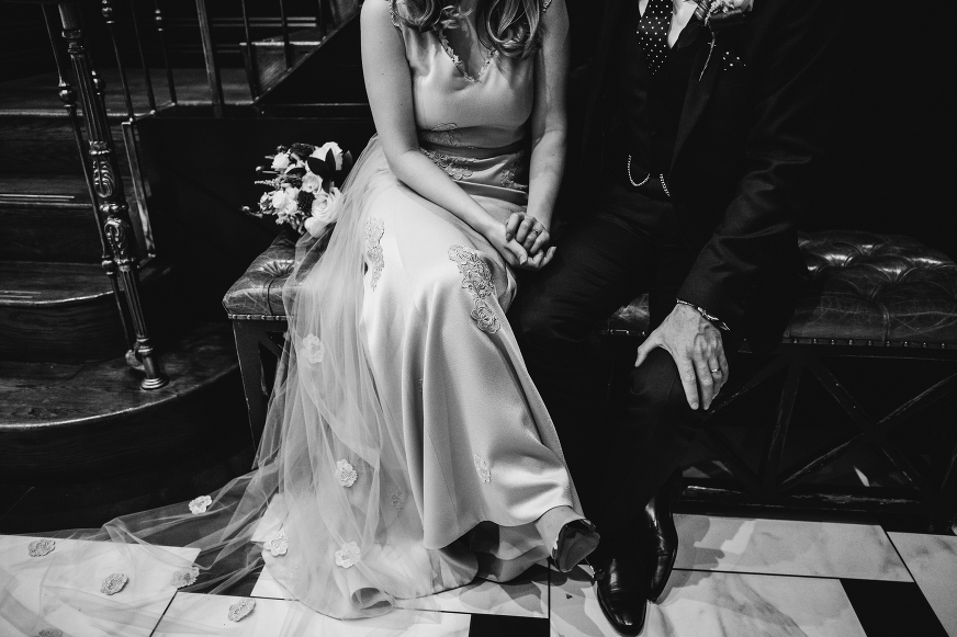 King St Townhouse Manchester wedding photography
