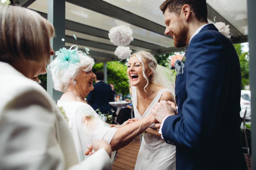 Lyme wedding photography